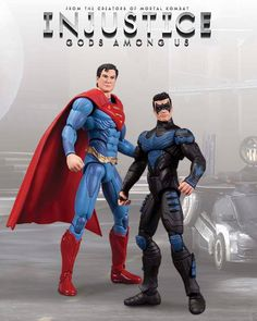 Injustice Gods Among Us Nightwing Vs Superman Figure2-Pack Preorder ships August