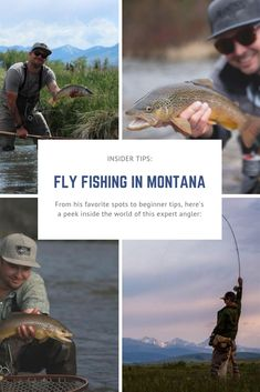 From his favorite spots to beginner tips, here's a peek inside the world of this expert angler. Cabin Activities, Wolf Creek, Fly Shop, Big Fish, Rocky Mountains, Fly Fishing, The Locals, Night Life, Montana