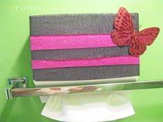 A Turtle's Life for Me: Dressing Up Your Kleenex Hand Towels  #CGC #CleanHands #spon