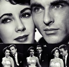 Liz and Montgomery Clift