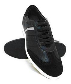 Oferta: 99€. Comprar Ofertas de ZERIMAR Zapatos deportivos con alzas para hombre de estilo casual. Aumento +6.5 Cm. Diseño con cordones y terminado en piel f barato. ¡Mira las ofertas!