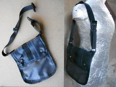 TABLET MESSENGER BAG. IPad  Rubber  by agujafrenetica on Etsy, $60.00