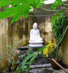the lotus buddha | Lotus Buddha sculpture