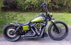"Harley Dyna street bob 23"" front wheel"