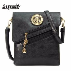 AEQUEEN Women Shoulder Bag Vintage National Style Soft PU Leather Crossbody Girls Phone Pouch Sequined Flap New Messenger Bags #Affiliate