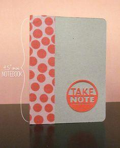 177 best diy notebooks images on pinterest notebook caro diario diy mini notebook solutioingenieria Images