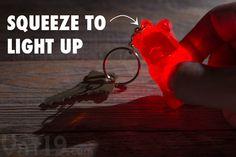 Red Gummy Bear Keychain from Vat19.com