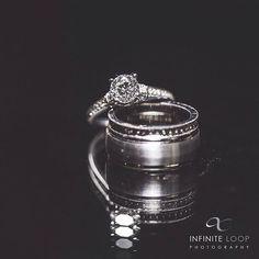 Symbols of a lifetime commitment #iDO #WeddingRings #ILPWeddings