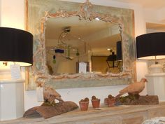 The French Tangerine: ~ cote jardin washington dc  This mirror is marvelous!