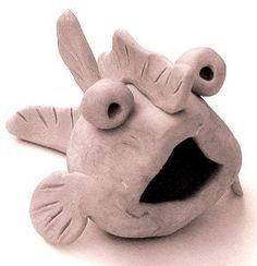 pinch pot fish