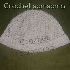 crochet hat  Free Crochet Pattern Headbands crochet . crochet  Hair Accessories .  كروشيه طاقية  كروشيه طاقية للصلاة  كروشيه طاقية خليجية  كروشيه قبعة رجالية كروشيه طاقية رجالية