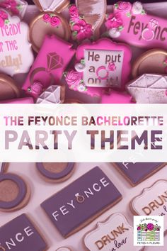 Bachelorette Party Themes We Dig: the FEYONCE Bachelorette Party feyonce bachelorette party theme – FEYONCE – feyonce bachelorette party – bachelorette party Bachelorette Party Cookies, Bachelorette Party Planning, Bachelorette Party Decorations, Bachelorette Weekend, Beyonce Party, Charleston, New Orleans, Party Shirts, Flower Crowns