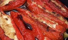 Γεμιστές πιπεριές !!! French Toast, Bacon, Cooking, Breakfast, Food, Kitchen, Morning Coffee, Essen, Meals