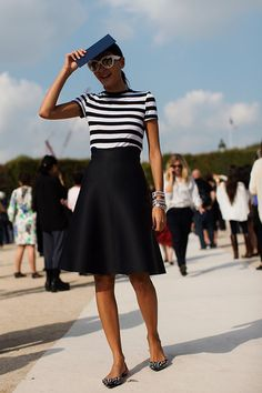 (via On the Street…..At Valentino, Paris « The Sartorialist)