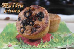 Muffin pizza #senzaglutine #vegan #senzasoia #senzalievito e senza mix industriali