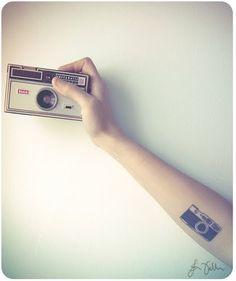 #tattoo #camera #arm