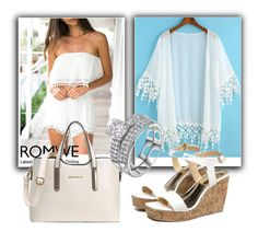 """Romwe V/3"" by dzemila-c ❤ liked on Polyvore featuring romwe"