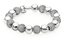 LOVE THE TEXTURE /SMOOTH CLEAN LOOK OF THIS ONE GREAT IDEA FOR A FUTURE PANDORA ADDITION
