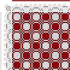 Handweaving.net # 52834. draft image: Figure 430, A Manual of Weave Construction, Ivo Kastanek, 4S, 4T