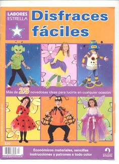 DISFRACES FACILES - Nancy - Álbumes web de Picasa Web Gallery, Book Crafts, Craft Books, Cosplay, Couture, Family Guy, Baseball Cards, Fictional Characters, Albums