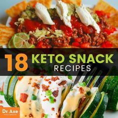 Keto snacks - Dr. Axe