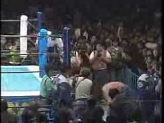 "NJPW-The Great Muta vs. Hiroshi Hase: The match that the ""Muta Scale"" is based on (a very non-scientific way of measuring the severity of blood loss in a wrestling match). Not for the weak."