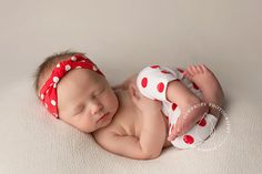 newborn girl PANTS and headband set Averie  by adorableprops
