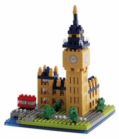 Build your own Big Ben or give it as a Christmas gift.