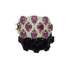 A ruby and diamond dress ring  l Bonhams Jewellery Auction, 7th of August, 2013 at London, Kinghtsbridge BST - Auction # 20636