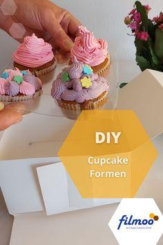 Cupcakes, Designs, Desserts, Food, Cupcake Liners, Deep Drawing, Foods, Kuchen, Simple
