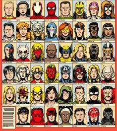 Marvel heroes II
