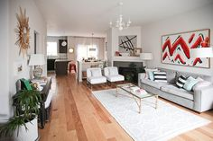 Suzannah & Jason's Did-it-Themselves Townhome