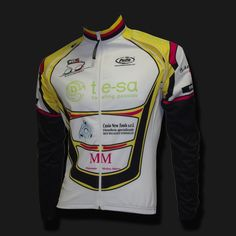 Custom long sleeve cycling jersey with zip off arms