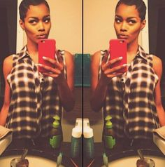 Teyana Taylor's Finger Waves Are Super Cute - Two Tutorials On How You Can Achieve Finger Waves