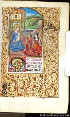 Book of Hours, MS S.5 fol. 22r - Images from Medieval and Renaissance Manuscripts - The Morgan Library & Museum