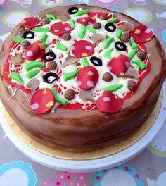 Pizza Cake.