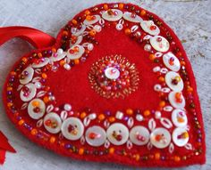 button heart by dutch blue, via Flickr