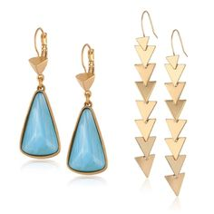 Discover statement earrings for under $50.