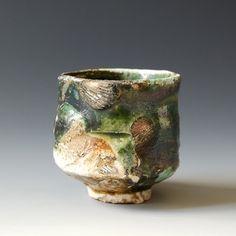 yunomi -oribe glaze