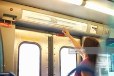 Stock Photo : Woman pointing to station map in train carriage Station Map, Train Station, Photos Of Women, Still Image, Transportation, Layout, Photoshoot, Stock Photos, Lifestyle