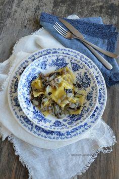 Ravioli di patate e ricotta con radicchio rosso di Treviso tardivo IGP e 'pastin' | facciamo che ero la cuoca