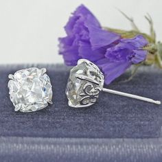 Diamond studs - the perfect fit for just about any woman.