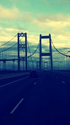 Narrows bridge, gig harbor, washington