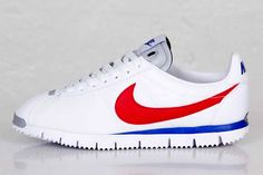 "NIKE CORTEZ, modern twist on an iconic classic! ""Run Forrest Run"""