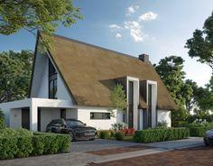 May House, Villa, House Design, Cabin, House Styles, Outdoor Decor, Home Decor, Garage, House