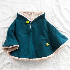 LOVE LOVE LOVE. franky grow sherpa poncho - Can they make this in adult size?!