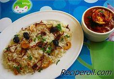 Basic Malabar Ghee Rice / Naichoru ~ Sankeerthanam (Reciperoll.com)|Recipes | Cake Decorations | Cup Cakes |Food Photos