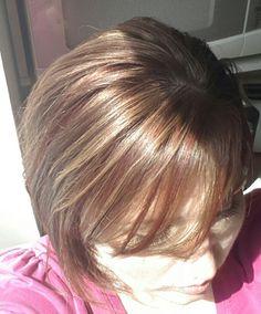 back hair and beautiful brown eyes minka kelly hair and makeup shes ...