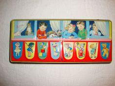 Vintage Watercolor Paint Tin England