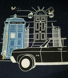Fandom - Supernatural, Doctor Who, Sherlock, Harry Potter mash-up tshirt - large | Clothing, Shoes & Accessories, Unisex Clothing, Shoes & Accs, Unisex Adult Clothing | eBay!